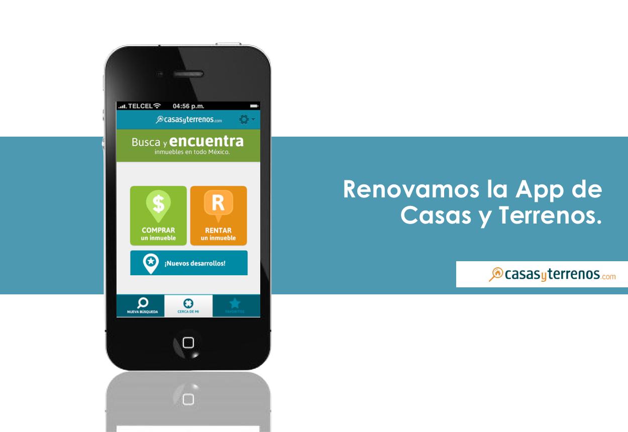 App Casas y Terrenos