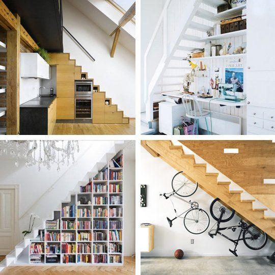 Cómo tus escaleras pueden ser un rincón especial.