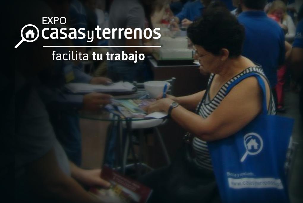 Expo Casas y Terrenos facilita tu trabajo