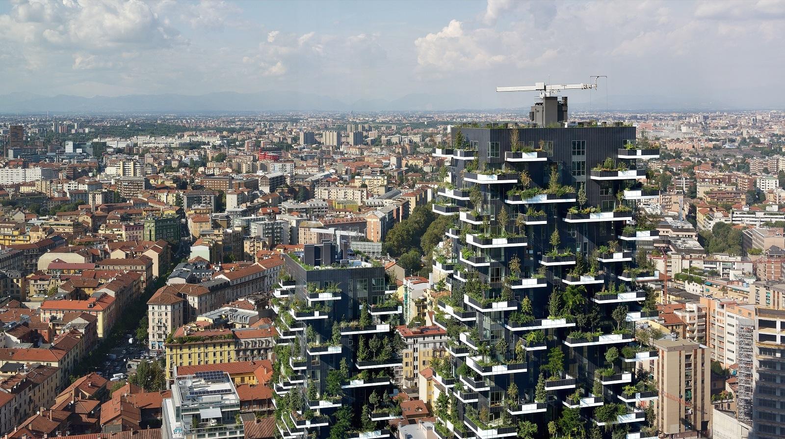 Un bosque vertical es la premisa de Stefano Boeri para el rescate ambiental de las urbes