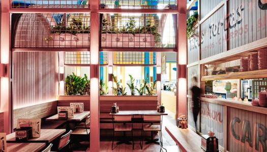 Un restaurante en Australia inspirado por la arquitectura mexicana