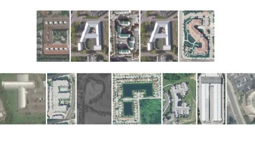 Aerial Bold transforma tus textos en vistas aéreas de Google Maps