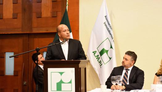 Sector inmobiliario, fundamental para el desarrollo económico de Jalisco: Alfaro