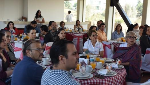 Presentación de Vista Vento y desayuno con socios de AMPI A.C.
