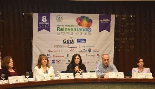 """Presentan pormenores del XXVI Foro Inmobiliario 2017 """"Reinventando la actividad inmobiliaria"""""""