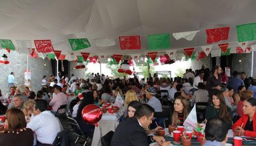 Cámara de Comercio y Asociaciones celebran a la mexicana