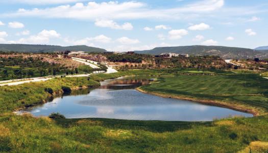 El Molino Residencial: campo de golf