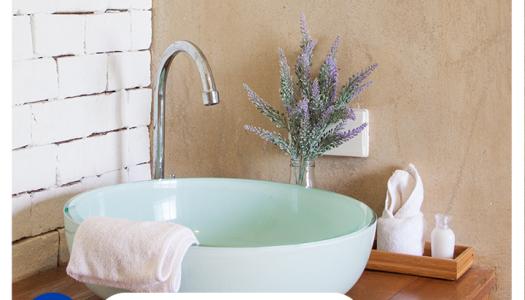 Para amueblar y decorar un baño pequeño