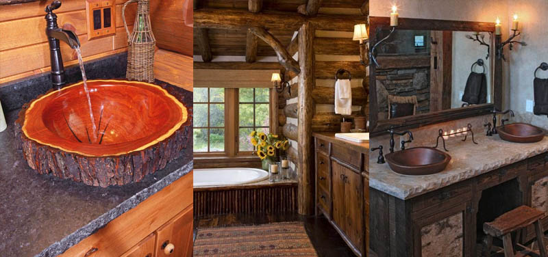ideas de sala de estar de estilo cabaña Ideas Para Disear Y Decorar Cabaas Casas Y Terrenos