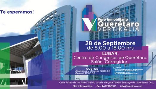 Foro Inmobiliario Querétaro Vertikalia